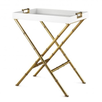 Meurice Butler Tray Table, Jonathan Adler.
