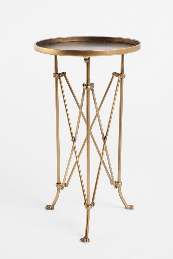 Metal Accordion Side Table, Urban Outfitters.